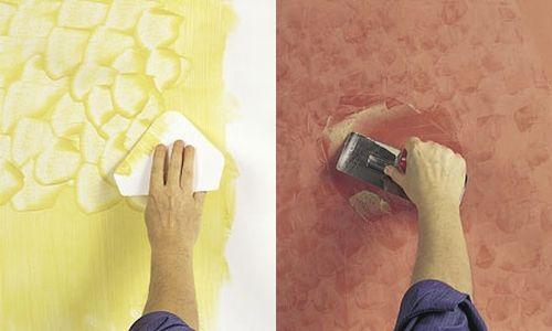 Декоративная штукатурка и краска Baldini Vernici