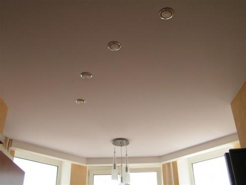 Тканевый потолок своими руками