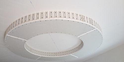 Делаем потолок из гипсокартона