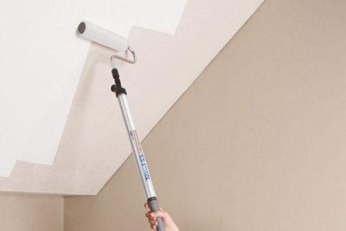Как покрасить потолок водно-дисперсионной краской