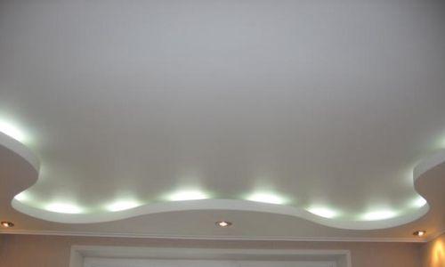 Подвесной потолок своими руками