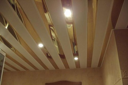 Подвесной реечный потолок своими руками