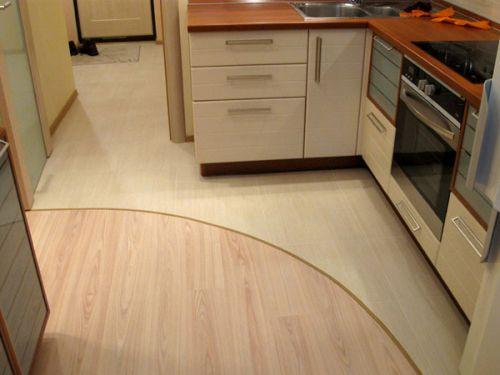 Косметический ремонт пола на кухне
