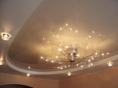 Красивый потолок своими руками