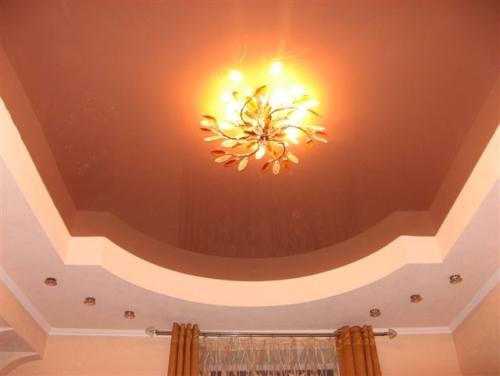 Подвесной многоуровневый потолок своими руками