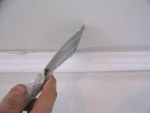 Стяжка потолка своими руками