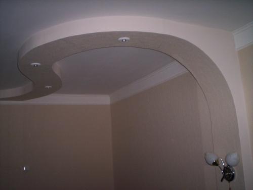 Делаем подвесные потолки из гипсокартона