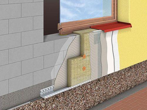 Отделка стен домов из газобетонных блоков