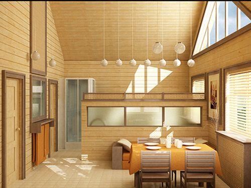 Внешняя и внутренняя отделка деревянного дома