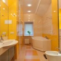 Цвет в интерьере ванной