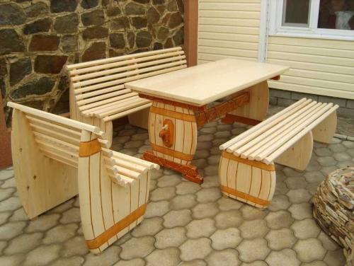 Мебель своими руками для дачи