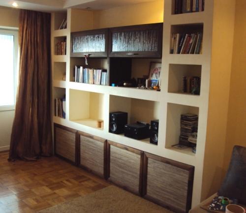 Шкаф - мебель из гипсокартона своими руками