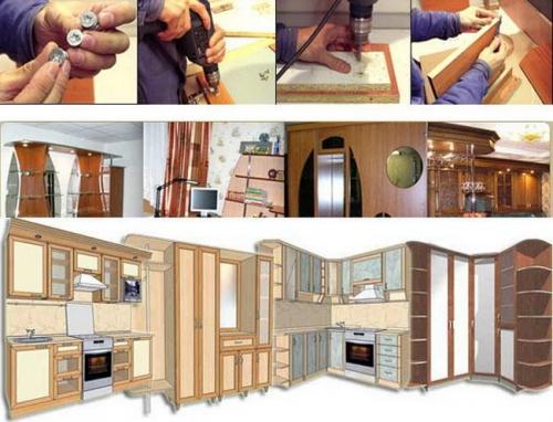 Как обновить корпусную мебель