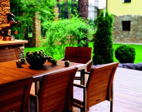 Садовая деревянная мебель своими руками
