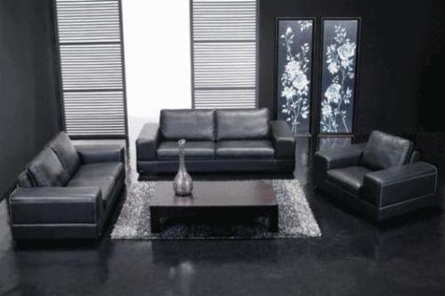 Черная мебель в современном дизайне интерьера