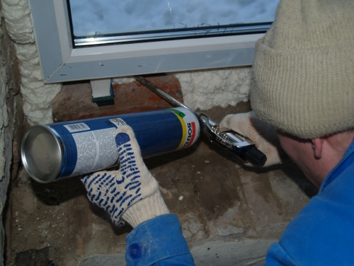 Установить пластиковые окна своими руками