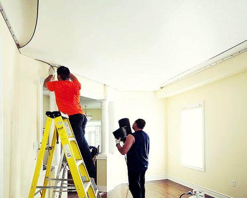 Почему нужно устанавливать натяжной потолок
