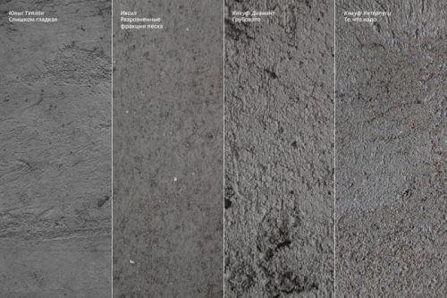 Штукатурно-клеевая смесь на цементной основе